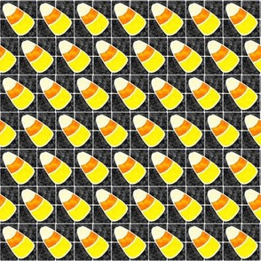 Marble Mosaic Tiny Candy Corn