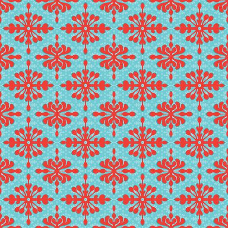 Mini Hawaiian Diamonds fabric by wildnotions on Spoonflower - custom fabric