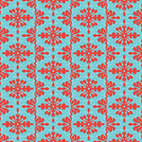 Mini Hawaiian Getaway fabric by wildnotions on Spoonflower - custom fabric