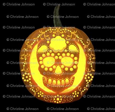 skullie jack o' lantern