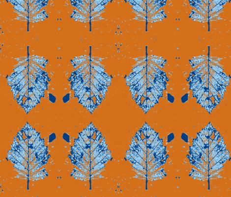 Winter Leaf fabric by arianagirl on Spoonflower - custom fabric