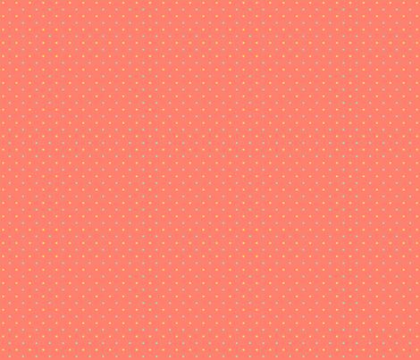 Swiss Sluggish - Peach fabric by glimmericks on Spoonflower - custom fabric