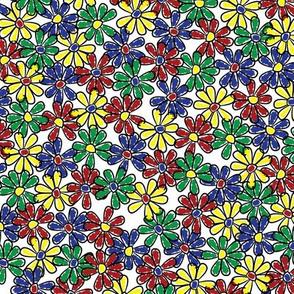 Doodle Flowers (Medium)