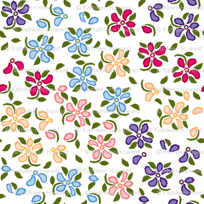 Flood of Flowers A eyelet_4_f_2_multi_white A green-ch-ch