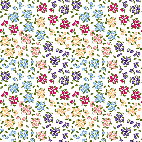 Flood of Flowers A eyelet_4_f_2_multi_white A green-ch-ch fabric by khowardquilts on Spoonflower - custom fabric
