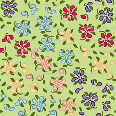 Flood of Flowers A eyelet_4_f_2_multi_green A green-ch-ch-ch