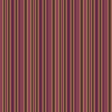 Wine and Chocolate Stripe  fabric by gingezel on Spoonflower - custom fabric
