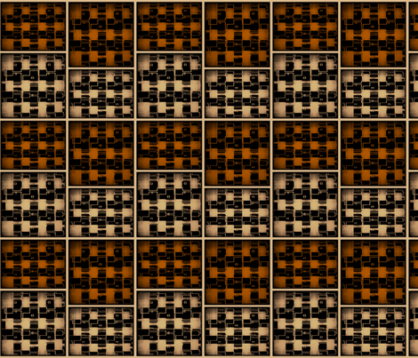 Brick_Dollhouse_Rug_Brown_Brick fabric by pd_frasure on Spoonflower - custom fabric