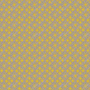 tiles french blue and mustard