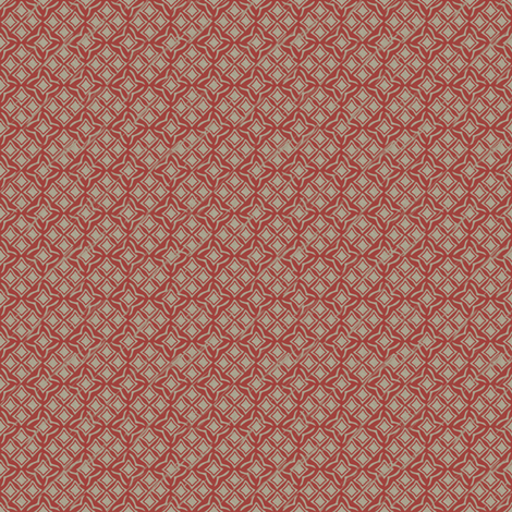 tiles woodrose fabric by glimmericks on Spoonflower - custom fabric