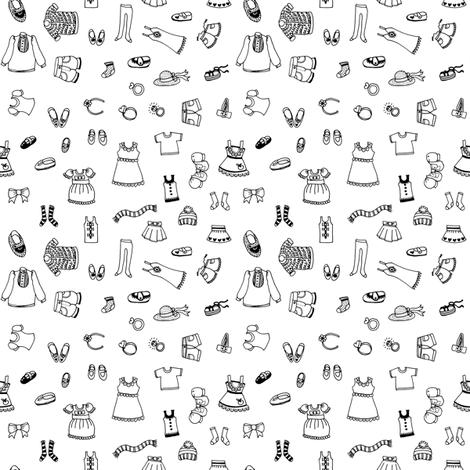Simple Fashion fabric by emilykariya on Spoonflower - custom fabric