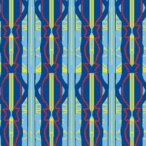Red-Bead Blue-Stripe