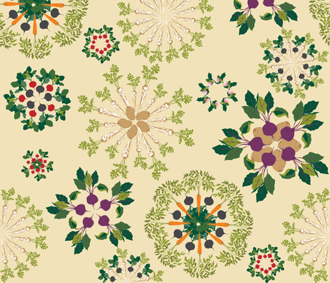roots_of_art fabric by johanna_design on Spoonflower - custom fabric