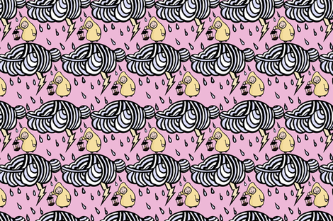 Cotton Candy Thunderstorm fabric by pond_ripple on Spoonflower - custom fabric