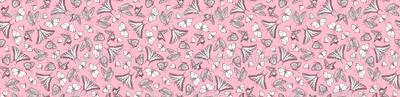 My Garden Toile Butterflies Ditsy Rose Pink ©2011 by Jane Walker