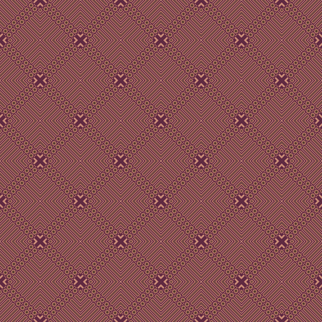Wine Diamonds © Gingezel™ Inc. 2011 fabric by gingezel on Spoonflower - custom fabric