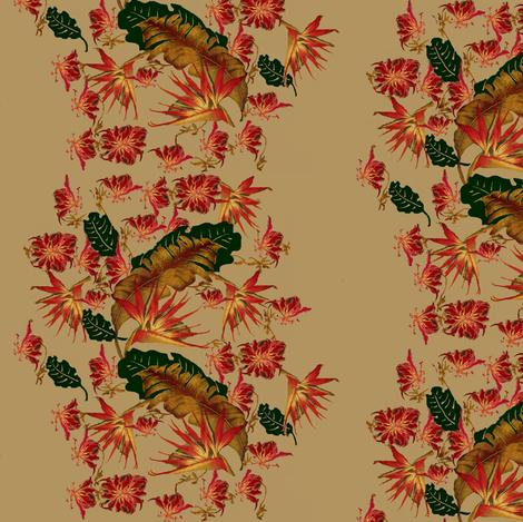south beach tropic wave fabric by paragonstudios on Spoonflower - custom fabric