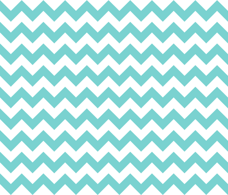chevron_blue fabric by walrus_studio on Spoonflower - custom fabric