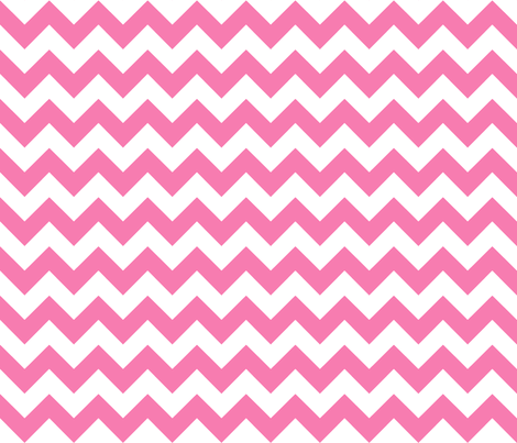 chevron_ pink fabric by walrus_studio on Spoonflower - custom fabric