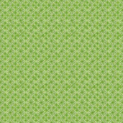 tiles verdant fabric by glimmericks on Spoonflower - custom fabric