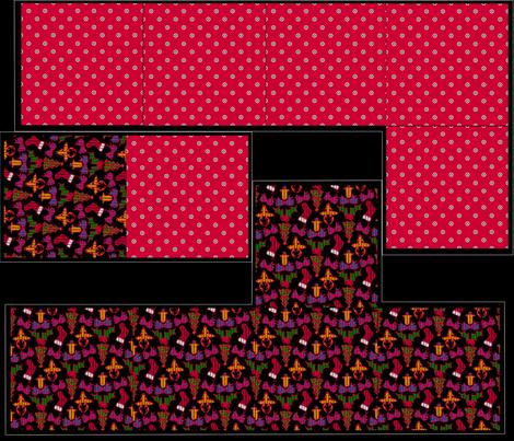 Giftbox - Merry Christmas fabric by glimmericks on Spoonflower - custom fabric