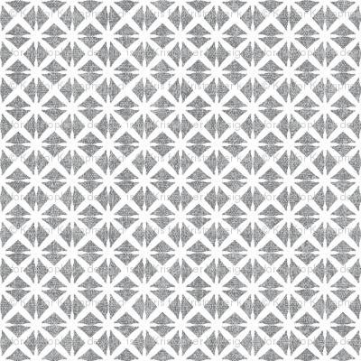 Linen Look Stars - Salt & Pepper