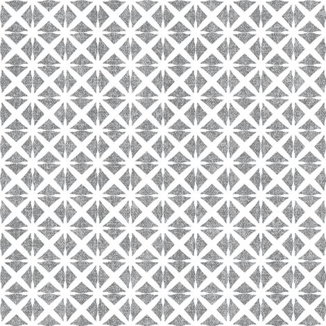 Linen Look Stars - Salt & Pepper fabric by kristopherk on Spoonflower - custom fabric