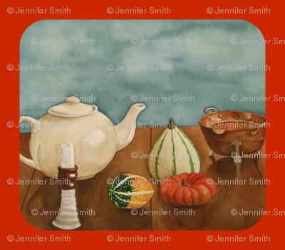 Autumn Table orange