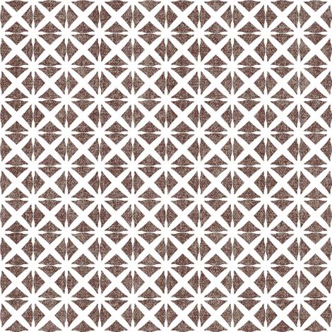 Linen Look Stars - Cinnamon fabric by kristopherk on Spoonflower - custom fabric