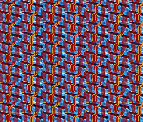 Ribbons Falling Down and Down  fabric by robin_rice on Spoonflower - custom fabric