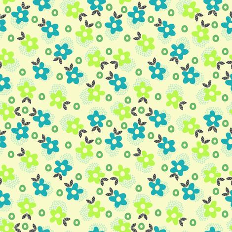Itsy Bitsy Ditsy (3) fabric by mondaland on Spoonflower - custom fabric