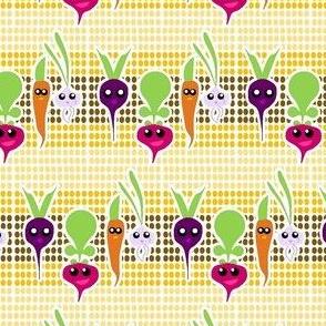 Kawaii Root Veggies
