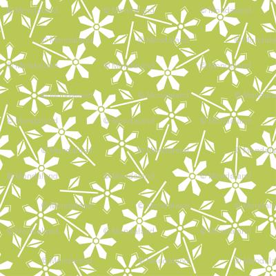 Hexy Flower (green)