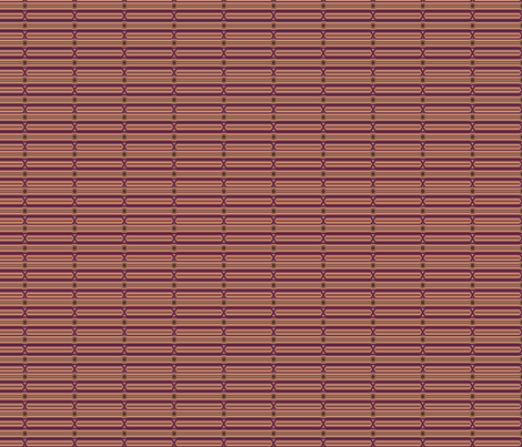 Broken Horizontal Stripe in wine and chocolate © Gingezel™ Inc. 2011 fabric by gingezel on Spoonflower - custom fabric