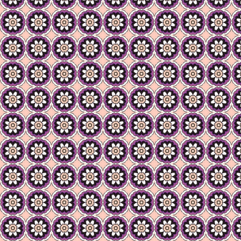 Hinako's Daisy fabric by siya on Spoonflower - custom fabric