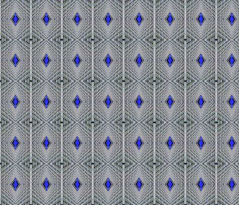 Diamond Sky Pinstripes fabric by relative_of_otis on Spoonflower - custom fabric