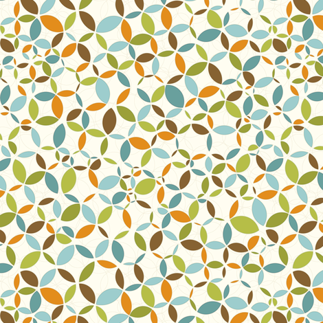 circulo fabric by littlerhodydesign on Spoonflower - custom fabric