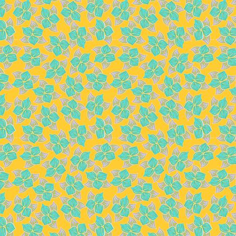 tropical_trillio fabric by glimmericks on Spoonflower - custom fabric