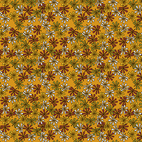 leafy_colors fabric by glimmericks on Spoonflower - custom fabric