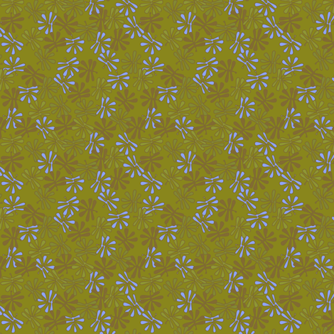 leafy_colors2 fabric by glimmericks on Spoonflower - custom fabric