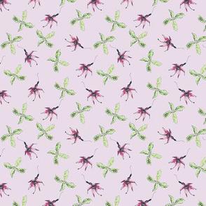 wild fuschia lilac-grey