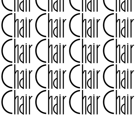 chair fabric by paragonstudios on Spoonflower - custom fabric