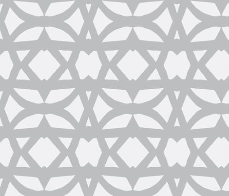 trellis-in light grays fabric by joybea on Spoonflower - custom fabric