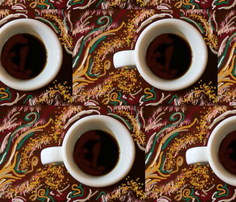 coffee fabric by creativeheads on Spoonflower - custom fabric