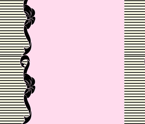 Alice Pink fabric by blackwood on Spoonflower - custom fabric