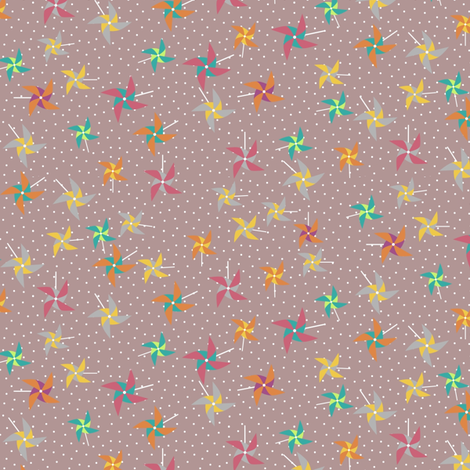 Pinwheel bold fabric by mrshervi on Spoonflower - custom fabric