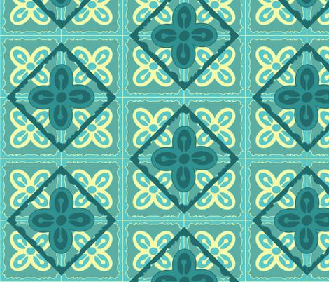 Adinkra squares Bese Saka fabric by nalo_hopkinson on Spoonflower - custom fabric