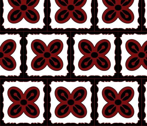 Adinkra squares Bese Saka 2 fabric by nalo_hopkinson on Spoonflower - custom fabric