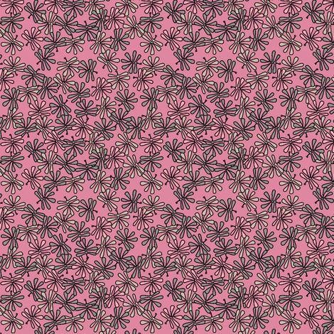 leafy pinks fabric by glimmericks on Spoonflower - custom fabric