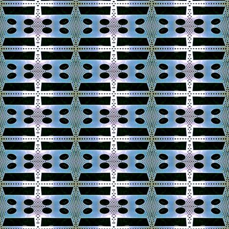 Rabbit Tracks Recycling fabric by relative_of_otis on Spoonflower - custom fabric